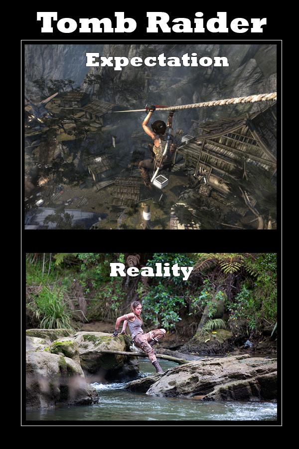 Tomb Raider Expectation vs Reality by Bria-Silivren