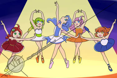 Puyo Puyo Dance Party (for CapricornDiem456) by thegreatsix