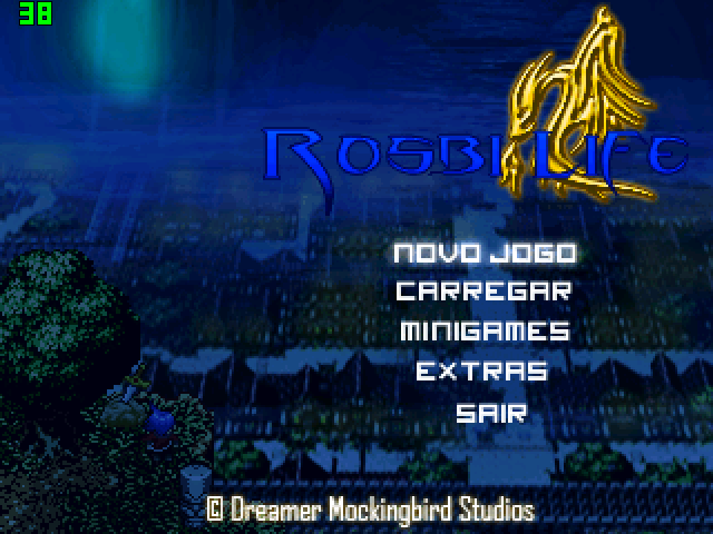Rosbi Life REMAKE - Title Screen by TioSnow649