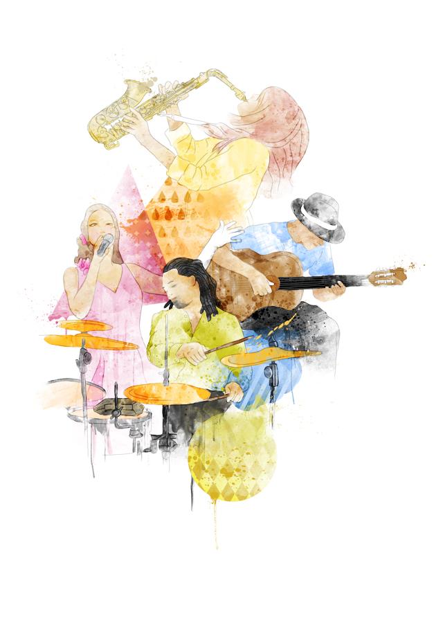 tribute to jazz by komo