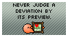 Never Judge A Deviation... by piekid