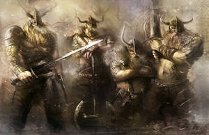 Warriors of Viking by ya-yun