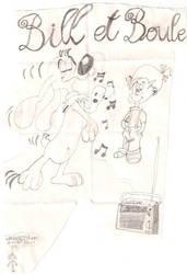 Bill et Boule by MangasMetal