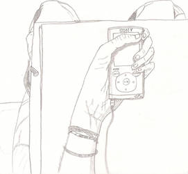 A draw of me by MangasMetal