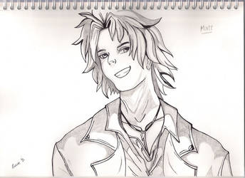 Matt from Is It Love ? - Otome Game by MangasMetal
