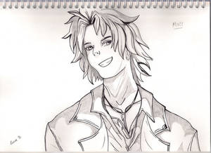 Matt from Is It Love ? - Otome Game