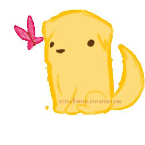 Little Golden Retriever by Brunita