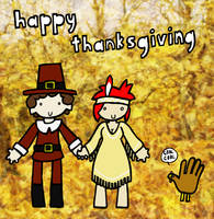 Happy Thanksgiving by DrSalt