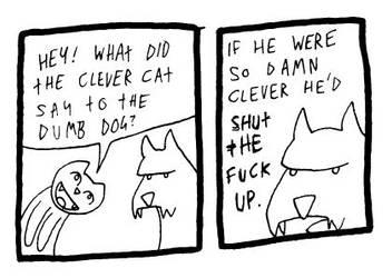Aggressive Comeback Dog by DrSalt