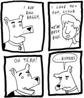 Scooby Doo Dog by DrSalt