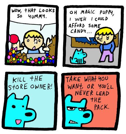 Magic Puppy by DrSalt