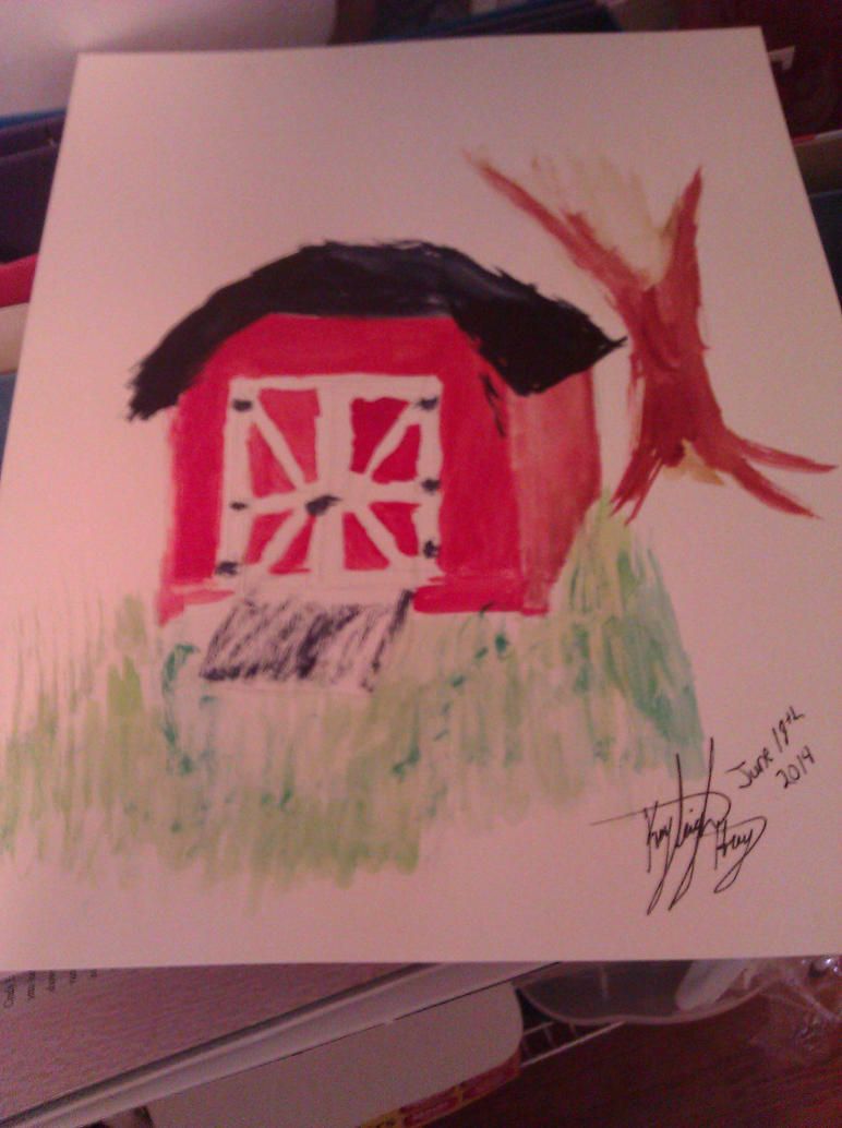 Little Red Shed by TTFNJinx