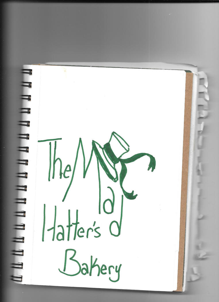 The Mad Hatter's Bakery Logo by TTFNJinx