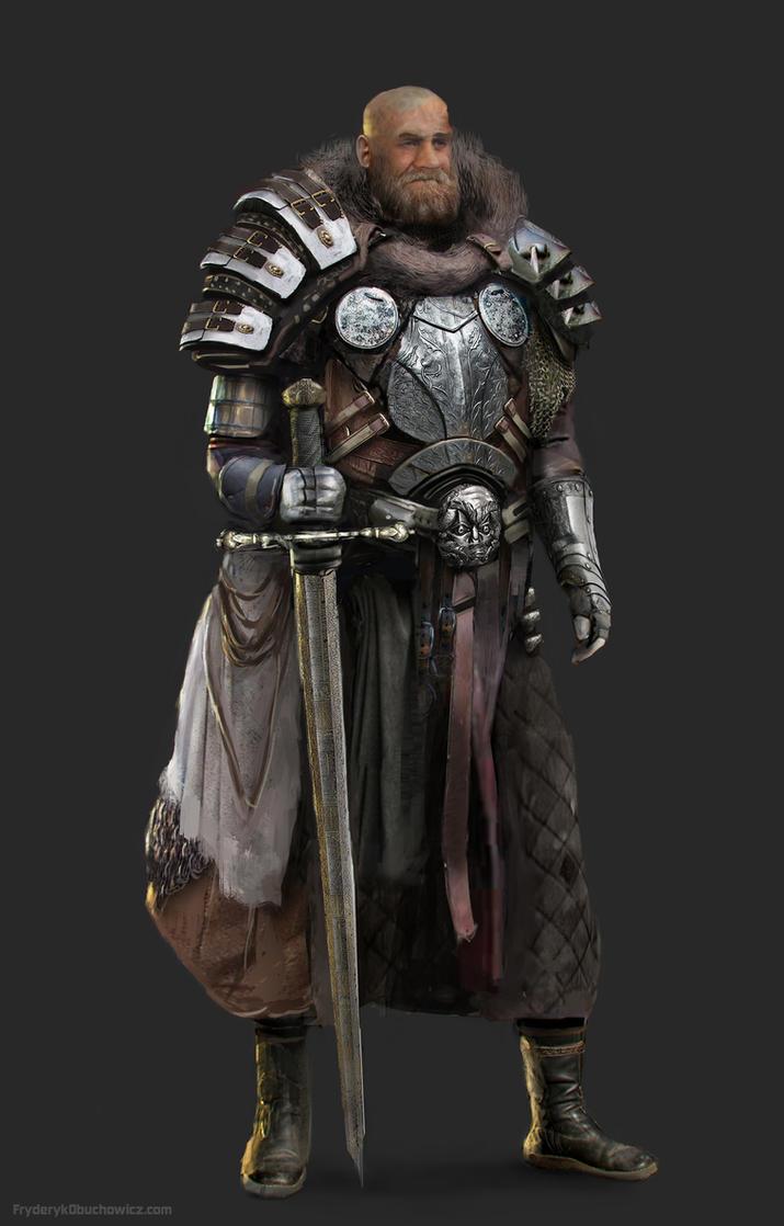 Heavy Knight by FryderykObuchowicz