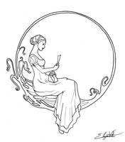 Demoiselle Art Nouveau by seifhyra