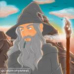 Gandalf by jardimdayavanna