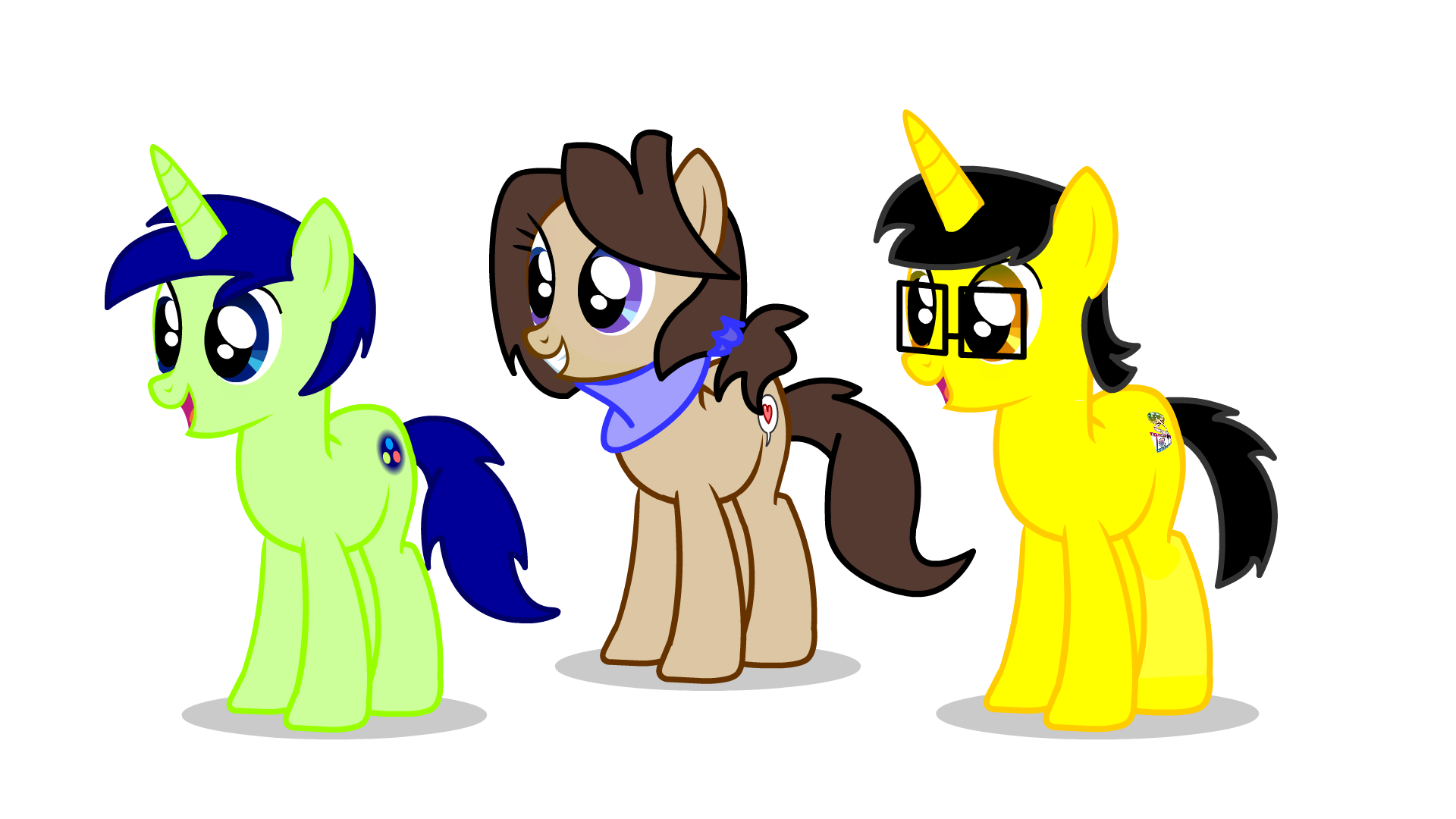 Pony Test OCs by kitkatyj