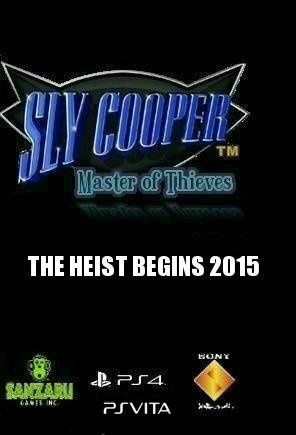 sly cooper ps4