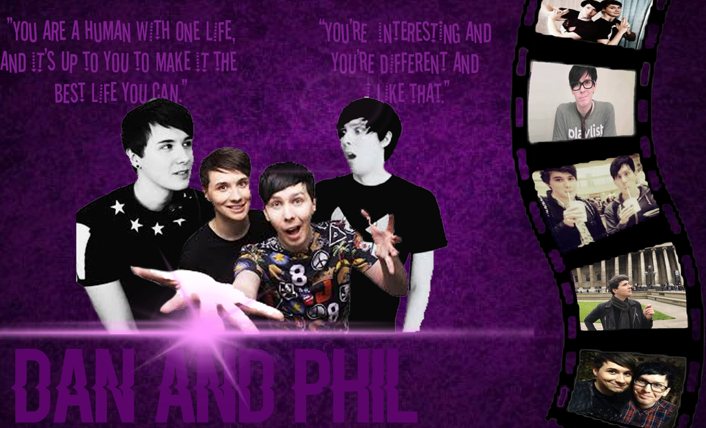 Dan And Phil Wallpaper By The1975AndGayThings