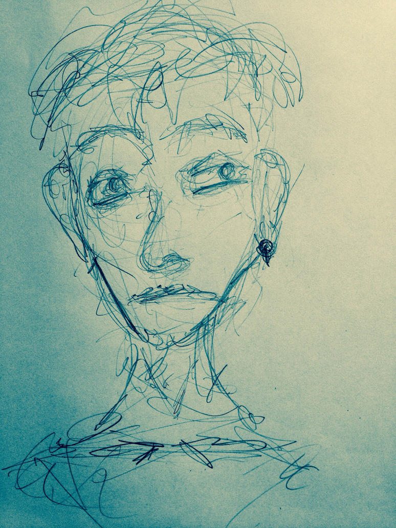 Face Sketch by Khesh