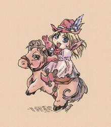 Cowgirl by LLucilla