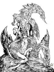 Three dragons by LLucilla
