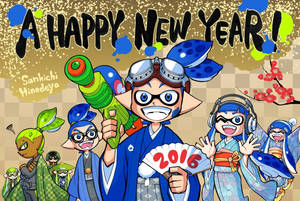 A Happy New Year 2016 by Trying-to-Draw