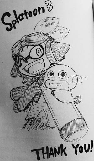 Splatoon 3 THANK YOU! by Trying-to-Draw