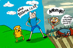 Adventure time for four