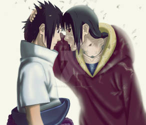 Sasuke and Itachi by daly-elena12