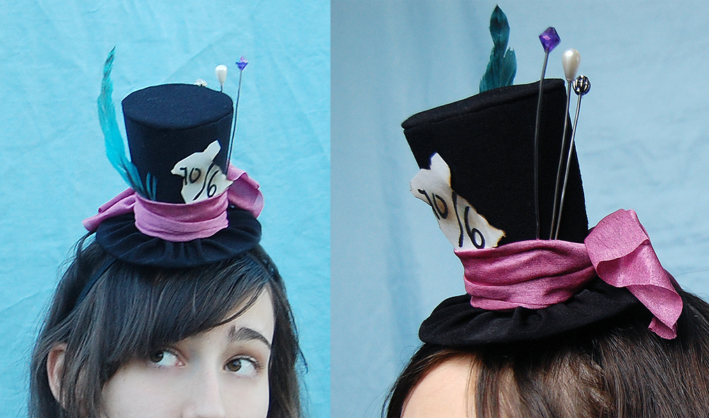 Tiny Top Hat: The Mad Hatter Version Three by TinyTopHats