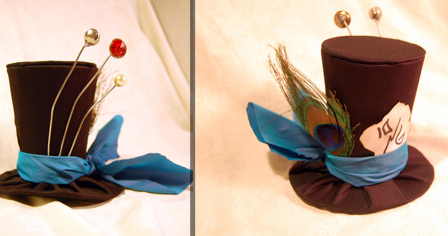 Tiny Top Hat: The Mad Hatter Blue Band Version by TinyTopHats