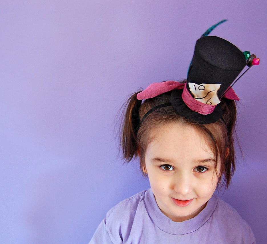 Kids Size Teeny Tiny Top Hat: Mad Hatter by TinyTopHats