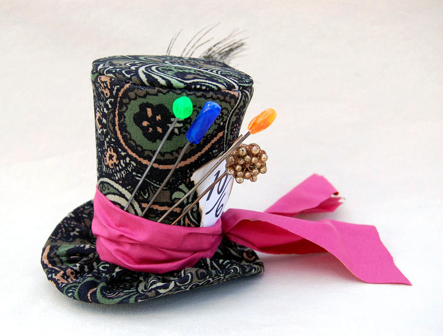 Mad Hatter Hat Tiny Top Hat Classic Mad