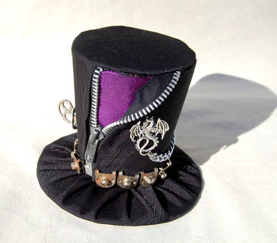 Tiny Top Hat: Punk Dragon by TinyTopHats