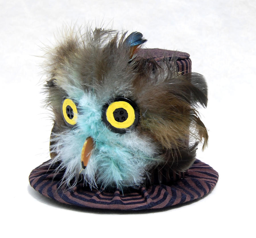 Tiny Top Hat: Baby Owl by TinyTopHats