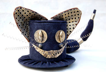 Tiny Top Hat - Steampunk Cheshire Cat by TinyTopHats