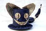 Tiny Top Hat - Steampunk Cheshire Cat
