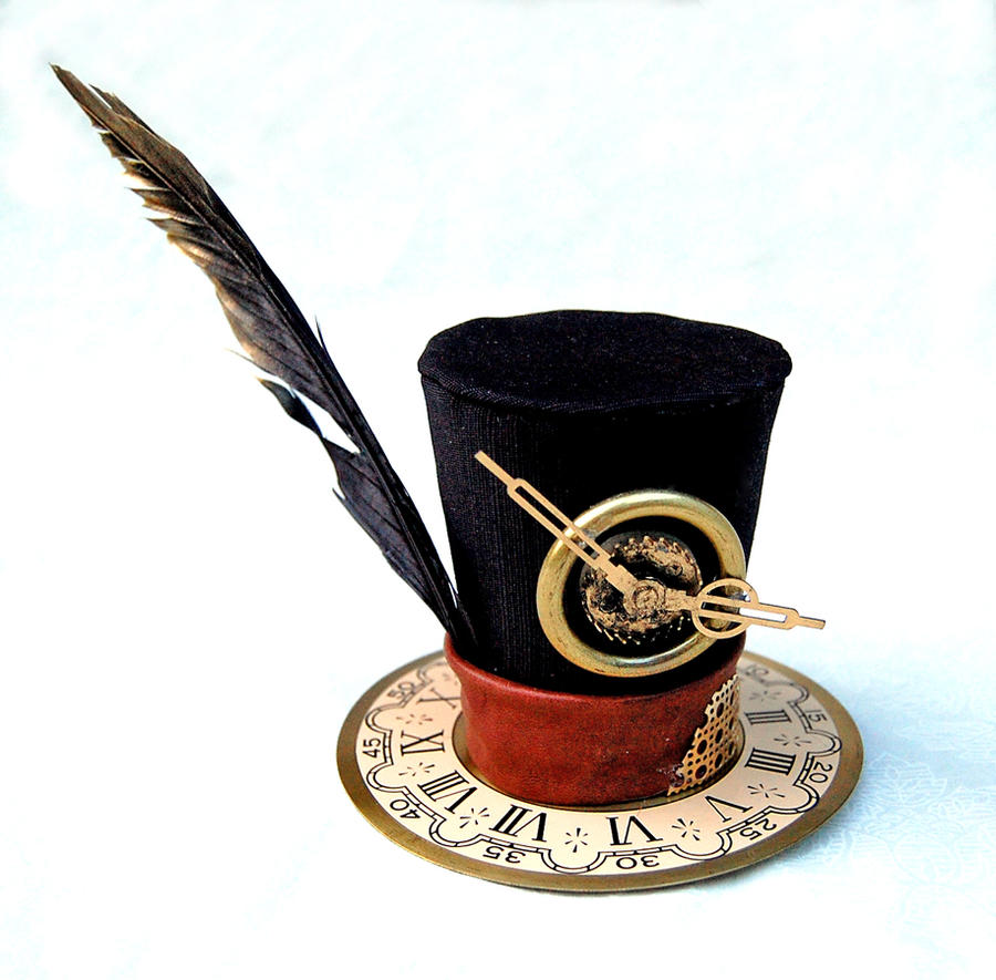 Tiny Top Hat: Steam Punk Time Traveler by TinyTopHats