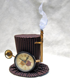 Tiny Top Hat: Steam Punk Professor by TinyTopHats