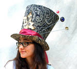 Full Sized Top Hat: Classic Mad Hatter
