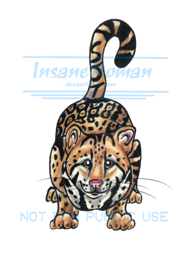 Ocelot Tattoo Commission by InsaneRoman