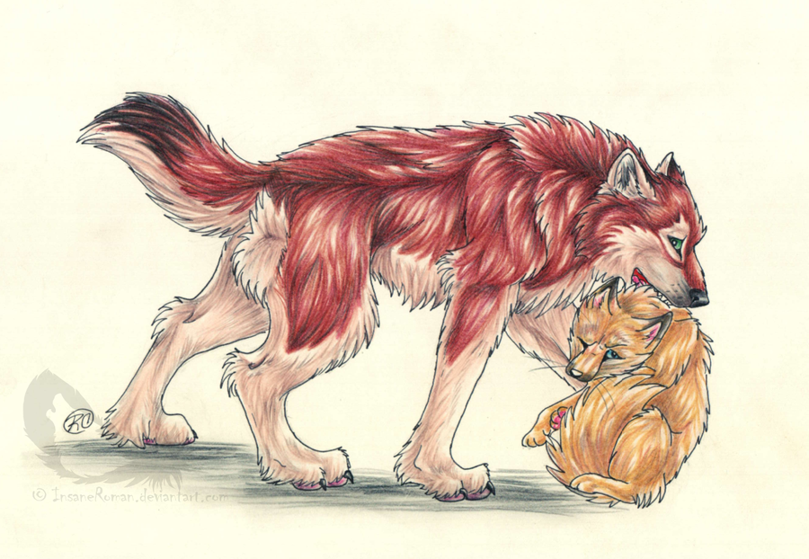 Foxohki Gift by InsaneRoman