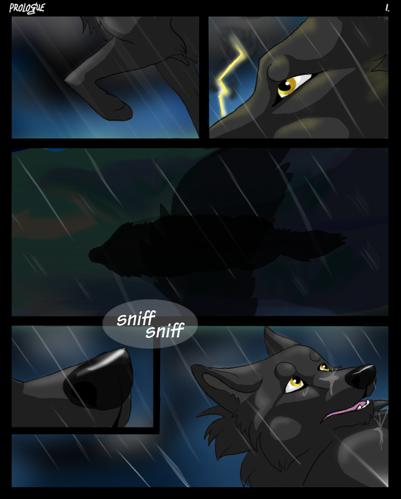 Eye of the Wolf: Prologue Pg. 1 by InsaneRoman