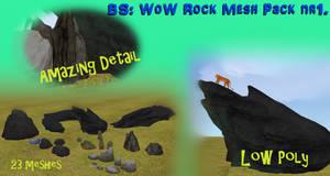 BS WoW Rock mesh pack nr1. [LINK]