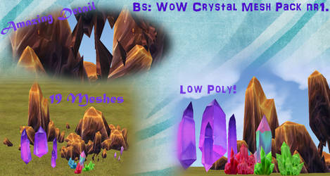 crystal heart wow