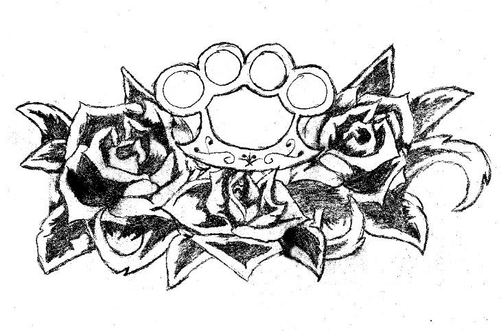 brass knuckles tattoo designs. Black Bedroom Furniture Sets. Home Design Ideas