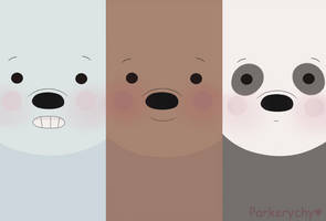 We bare bears Wallpaper by TakyHime
