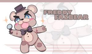 Freddy Fazbear on Action! by TakyHime