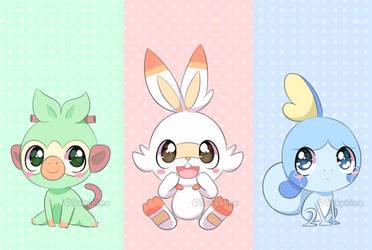 Pokemon New Cuties by TakyHime